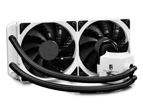 DeepCool Captain 240EX RGB Enfriamiento Liquido para CPU, 2x 120mm, 500-1800RPM
