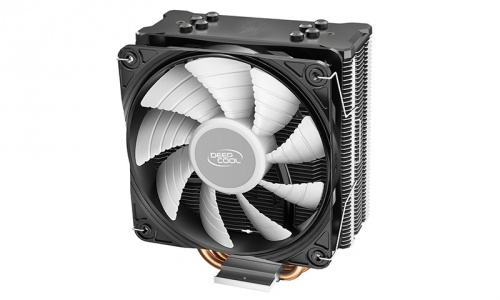 Disipador CPU Deep Cool GAMMAXX GTE V2, LED RGB, 120mm, 500-1650RPM, Negro/Plata