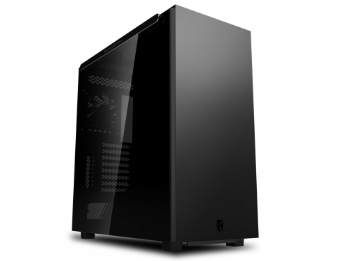 Gabinete DeepCool MACUBE 550 con Ventana, Tower, ATX/Micro ATX/Mini-ITX, USB 3.0, sin Fuente, Negro