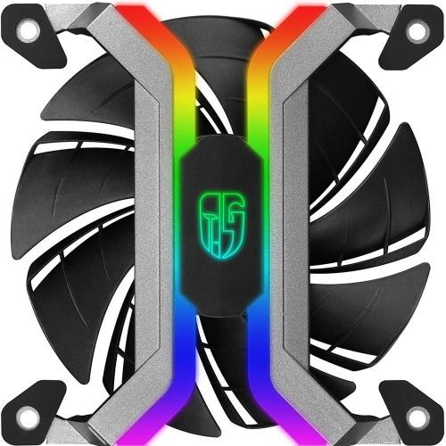 Ventilador DeepCool MF 120 RGB, 120mm, 500 - 2200RPM