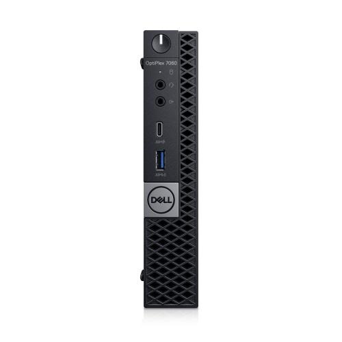 Computadora Dell OptiPlex 7060, Intel Core i7-8700T 2.40GHz, 16GB, 256GB SSD, Windows 10 Pro 64-bit, Negro ― Teclado en Inglés