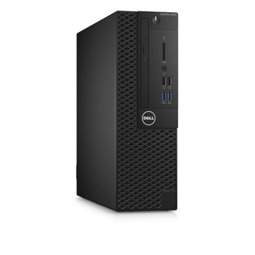 Computadora Dell OptiPlex 3050, Intel Core i5-7500 3.40GHz, 8GB, 1TB, Windows 10 Pro 64-bit