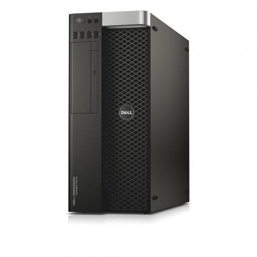 Dell Precision T7810, Intel Xeon E5-2603V3 1.60GHz, 16GB, 1TB, NVIDIA Quadro K620, Windows 10 Pro 64-bit, Negro
