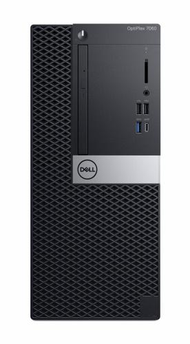 Computadora Dell OptiPlex 7060, Intel Core i7-8700 3.20GHz, 8GB, 1TB, Windows 10 Pro 64-bit, Negro ― Teclado en Inglés
