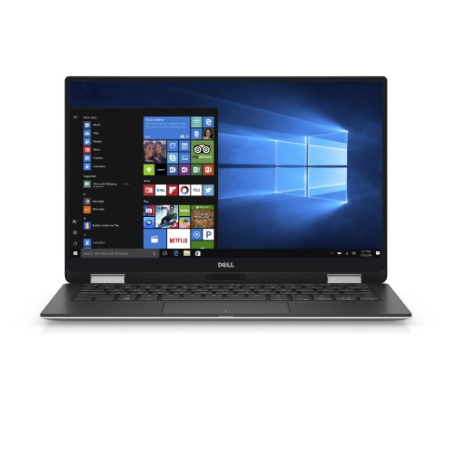 "Dell 2 en 1 XPS 13 9365 13.3"" Quad HD, Intel Core i7-8500Y 1.50GHz, 16GB, 512GB SSD, Windows 10 Home 64-bit, Plata"