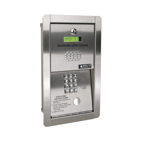 DoorKing Interfon 1802-089, Altavoz, Alámbrico, Plata
