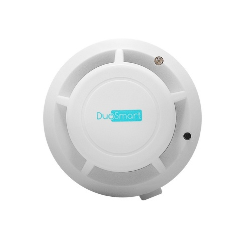 DuoSmart Detector de Humo CSMD1, Inalámbrico, Blanco, Compatible con Panel C20/C30