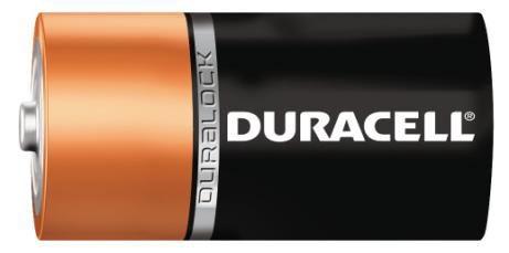 Duracell Pila Alcalina MN1300, 1.5V