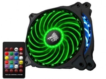 Kit Eagle Warrior RING RGB, 2 Ventiladores 120mm + Controlador