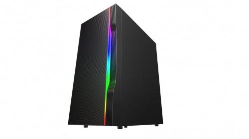 Gabinete Eagle Warrior SWORD con Ventana RGB, Full-Tower, ATX/Micro-ATX, USB 3.2, sin Fuente, Negro