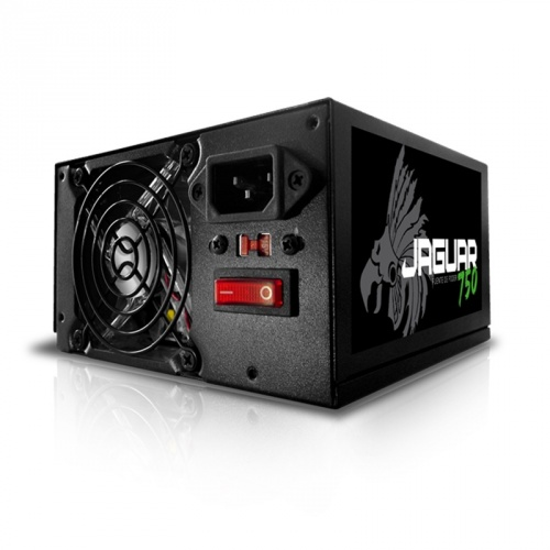Fuente de Poder Eagle Warrior Jaguar 750, 20+4 pin ATX, 750W