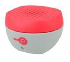 Easy Line Bocina Portátil EL-994572-0001, Bluetooth, Inalámbrico, Gris/Rojo