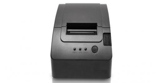 EC Line EC-PM-58110, Impresora de Tickets, Térmica Directa, USB, Cortador Manual, Negro