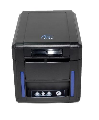 EC Line PM-80340, Impresora de Tickets, Térmica Directa, 203 x 203 DPI, USB 2.0, Negro