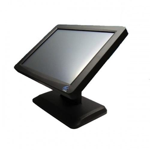 EC Line Monitor EC-TS-1510-USB LED TouchScreen 15'', Negro