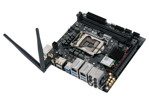 Tarjeta Madre ECS mini ITX Z270H4-I, S-1151, Intel Z270, HDMI, 32GB DDR4, para Intel