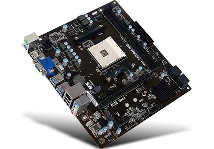 Tarjeta Madre ECS ATX A320AM4-M3D V1.0A, S-AM4, AMD A320, HDMI, 32GB DDR4 para AMD