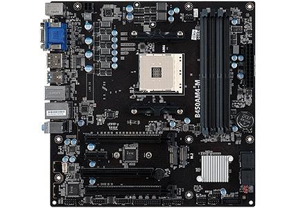Tarjeta Madre ECS Micro ATX B450AM4-M, S-AM4, AMD B450, HDMI, 64GB DDR4 para AMD