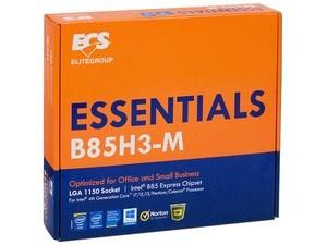 Tarjeta Madre ESC micro ATX B85H3-M (V1.0), S-1150, Intel B85, HDMI, 32GB DDR3, para Intel