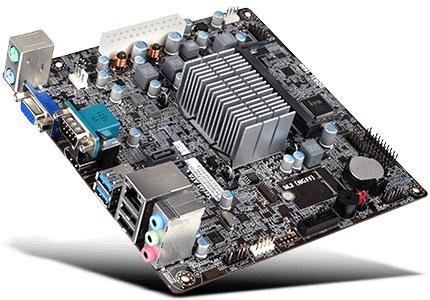 Tarjeta Madre ECS Mini ITX BSWI-D2-J3160 FCBGA1170, Intel Celeron J3160 Integrada, HDMI, 8GB DDR3 para Intel