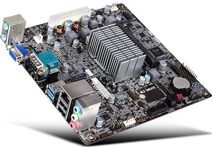 Tarjeta Madre ECS mini ITX BSWI-D2-N3050, BGA1170, Intel Celeron N3050 Integrada, 8GB DDR3