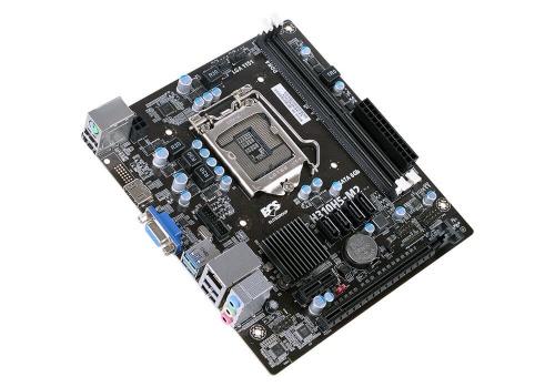Tarjeta Madre ECS micro ATX H310H5-M2, S-1151, Intel H310 Express, HDMI, 32GB DDR4 para Intel ― Compatibles solo con 8va y/o  9va Generación (Revisar modelos aplicables)