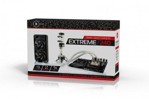 EK Water Blocks EK-KIT X240 Enfriamiento Liquido para CPU, 120mm, 1850RPM