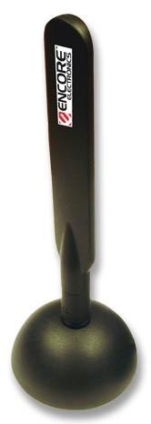 Encore Antena Amplificadora ENAT-SO4, Inalámbrico, R-SMA, 4dBi, 2.4GHz