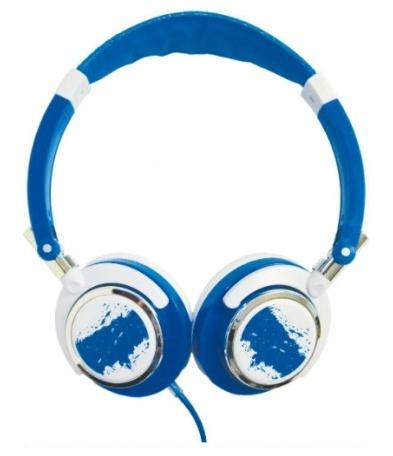 Misik Audífonos  Encore H200, Alámbrico, 1.5 Metros, 3.5mm, Azul