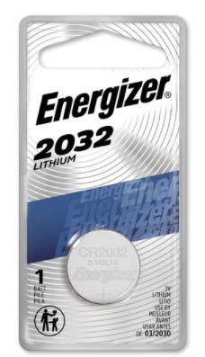 Energizer Pila de Botón CR2032, 3V, 1 Pieza
