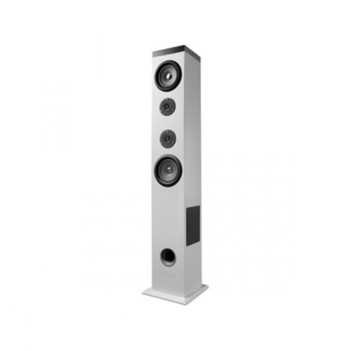 Energy Sistem Bocina con Subwoofer Energy Tower 5, Bluetooth, Inalámbrico, 2.1, 60W RMS, USB 2.0, Blanco