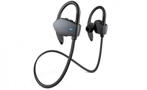 Energy Sistem Audífonos Intrauriculares con Micrófono Sport 1, Inalámbrico, Bluetooth, Negro/Grafito