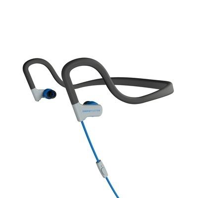 Energy Sistem Audífonos Intrauriculares Deportivos con Micrófono Sport 2, Alámbrico, 3.5mm, Azul