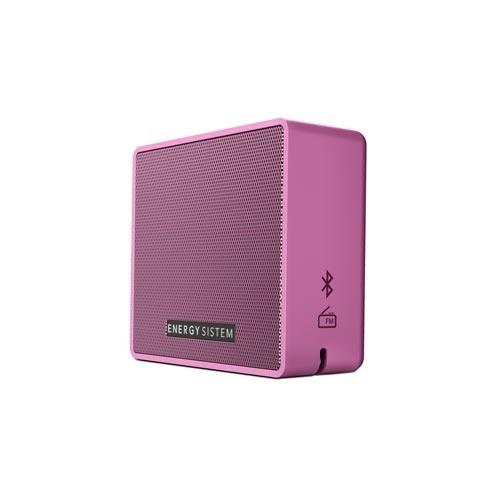 Energy Sistem Bocina Portátil Music Box 1+, Bluetooth, Inalámbrico, 5W RMS, USB, Rosa
