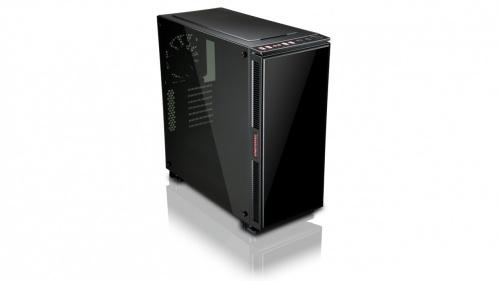 Gabinete Enermax Equilence con Ventana, Tower, ATX/Micro-ATX/Mini-ITX, USB 2.0/3.1, sin Fuente, Negro
