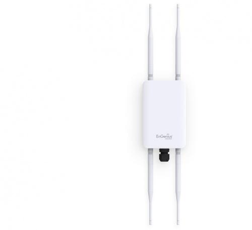 Access Point EnGenius de Banda Dual EnTurbo AC1300, 867Mbps, 1 Puerto RJ-45, 2.4-5GHz, 4 Antenas de 5dBi