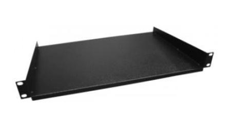 Enson Charola de Fijación Lateral 1U, hasta 15Kg, Negro