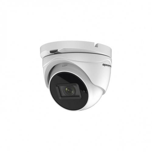 Epcom Cámara CCTV Domo Turbo HD IR para Interiores/Exteriores E4K-TURBOZ, Alámbrico, 3840 x 2160 Pixeles, Día/Noche