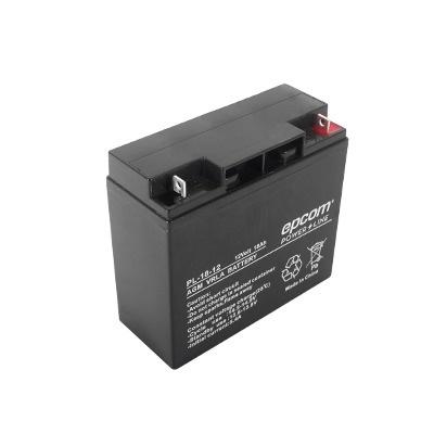 Epcom Bateria PL-18-12, AGM / VRLA, 18000mAh, 12V, Negro