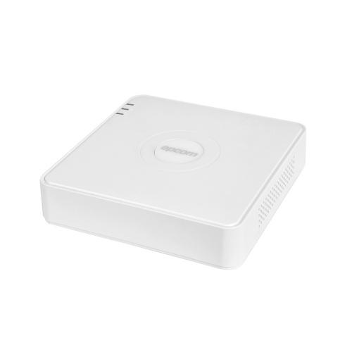 Epcom DVR Pentahibrido de 4 Canales TURBOHD + 1 Canal IP S04-TURBO-L para 1 Disco Duro, max. 6TB, 2x USB 2.0, 1x RJ-45