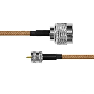 Epcom Cable Coaxial N Macho - Mini UHF Macho, 60cm