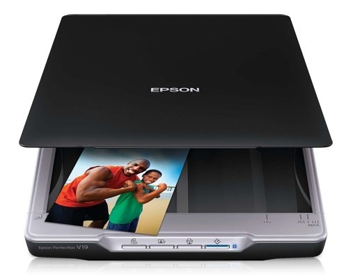 Scanner Epson Perfection V19, 4800 х 4800 DPI, Escáner Color, USB, Negro