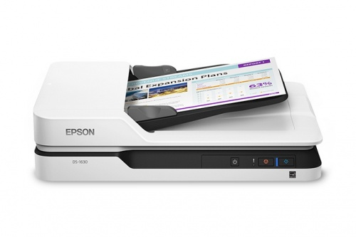 Scanner Epson DS-1630, 1200 x 1200 DPI, Escáner Color, Escaneado Dúplex, USB 3.0