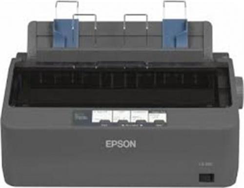 Epson LX-350 110V, Blanco y Negro, Matriz de Puntos, 9 Pines, Paralelo/USB 2.0, Print