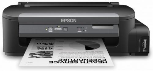 Epson Ecotank WorkForce M100, Blanco y Negro, Inyección, Tanque de Tinta, Print