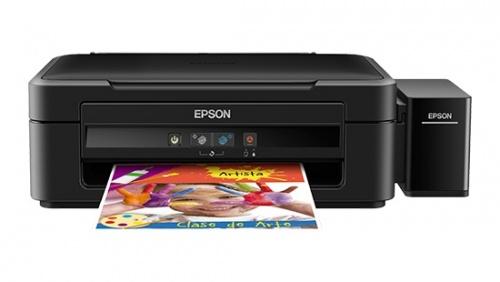 Multifuncional Epson EcoTank L380, Color, Inyección, Tanque de Tinta, Print/Scan/Copy