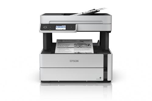 Multifuncional Epson EcoTank M3170, Blanco y Negro, Inyección, Tanque de Tinta, Inalámbrico, Print/Scan/Copy/Fax