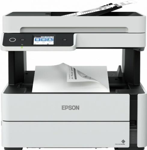 Multifuncional Epson EcoTank ET-M3180, Blanco y Negro, Inyección, Tanque de Tinta, Inalámbrico, Print/Scan/Copy/Fax