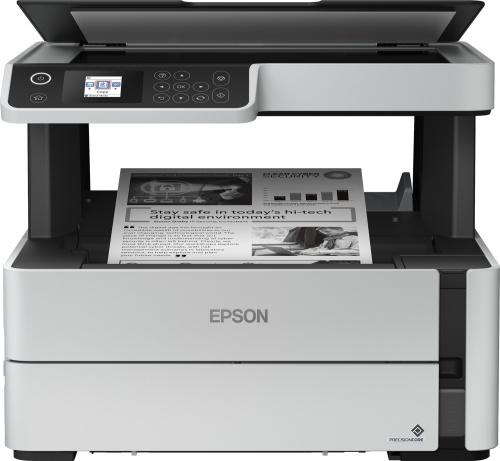 Multifuncional Epson EcoTank M2170, Blanco y Negro, Inyección, Tanque de Tinta, Inalámbrico, Print/Scan/Copy