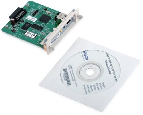 Epson Tarjeta Servidor de Impresión, EpsonNet 10/100 Base TX Type B Internal Ethernet